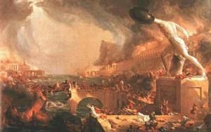 Civilisation burning